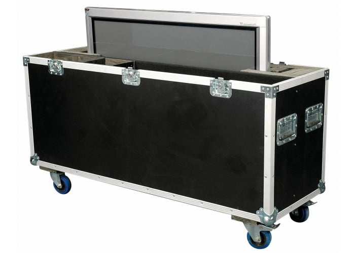 scherm in flightcase