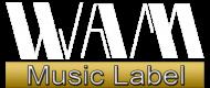 WAM Logo Music Label PNG