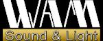 WAM Logo Sound&Light PNG